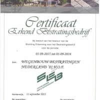 SEB-certificaat