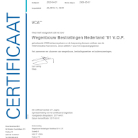 VCA-K46449-06 c Wegenbouw Bestratingen Nederland '81